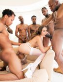 Riley Reid interracial gang bang