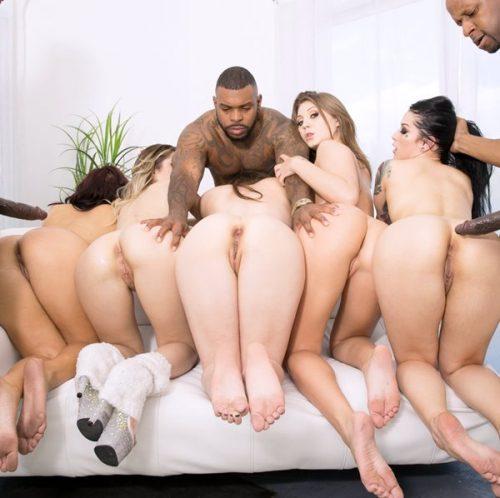 Keisha Casey Katrina Goldie JoJo orgy