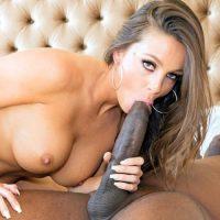 Abigail Mac orgasm fucking Mandingo's black cock