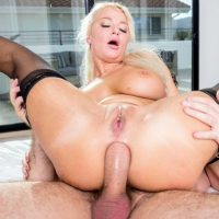 London River big tit blonde milf Anal Workout